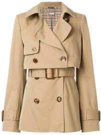 2 780 Alexander McQueen Short Trench Coat - Buy Online - Fast Delivery  Price  Photo at Farfetch