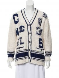 2019 Logo Cardigan by Chanel at The Real Real