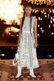2020 Resort laser cut Top by Dior at Dior