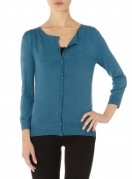Teal cardigan like Annies at Dorothy Perkins