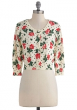 Floral cardigan like Annies at Modcloth
