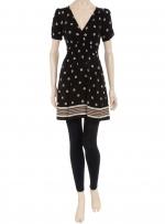 Patterned short sleeve dress like Bernadette's at Dorothy Perkins