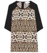 A.L.C Animal print silk shirt at My Theresa