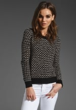 Patterned sweater like Zoes at Revolve