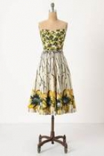 Burgeoning Hypericum Dress by Anthropologie at Anthropologie