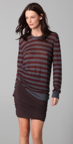 T by Alexander Wang striped longsleeve top at Shopbop