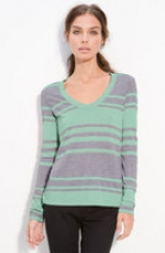 James Perse long sleeve stripe tee at Nordstrom