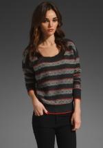 Splendid Fair Isle sweater at Revolve