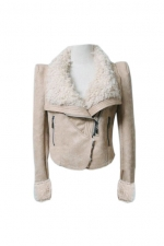 Shearling jacket like Alexs at Romwe