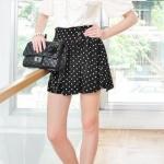 Black polka dot skirt like Karens at Yes Style