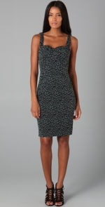 Zac Posen Leopard Bustier Dress at Shopbop