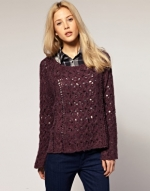 Cable knit jumper by Free People at Asos