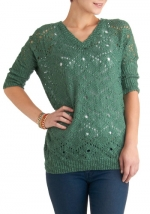 Green sweater like Alexs at Modcloth