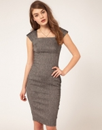 Grey pencil dress like Reginas at Asos
