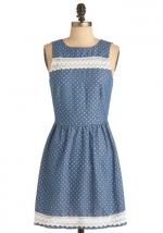 Blue dress like Marys at Modcloth