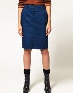 Denim pencil skirt like Amy's at Asos