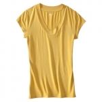Yellow v-neck shirt like Penny's at Target