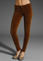 Brown skinny jeans like Pennys at Revolve