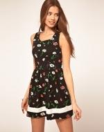 Black floral dress like Serenas at Asos
