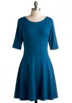 Blue dress like Janes at Modcloth