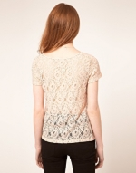 Top with lace sections like Alex's at Asos