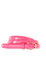 Pink skinny belt at Asos