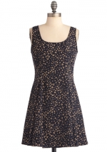 Printed dress like Annies at Modcloth