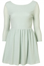 Mint green skater dress like Alex's at Topshop