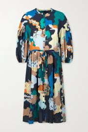 + NET SUSTAIN India printed voile dress at Net A Porter