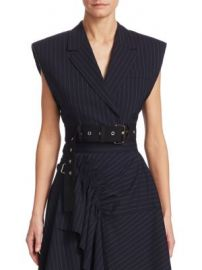 3 1 Phillip Lim - Cropped Wool Vest at Saks Fifth Avenue
