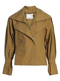 3 1 Phillip Lim - Detachable Collar Safari Jacket at Saks Fifth Avenue