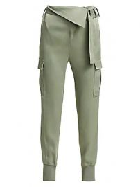 3 1 Phillip Lim - Satin Foldover Waist Joggers at Saks Fifth Avenue