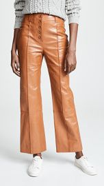 3 1 Phillip Lim Button Fly Kick Flare Pants at Shopbop
