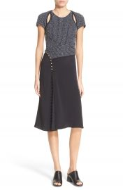 3 1 Phillip Lim Cutout Structural Dress with Button Detail at Nordstrom