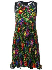 3 1 Phillip Lim Floral Pleated Detail Dress at Farfetch