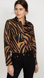 3 1 Phillip Lim Long Sleeve Zebra Print Blouse at Shopbop