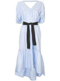 3 1 Phillip Lim Midi Poplin Flared Dress Midi Poplin Flared Dress at Farfetch