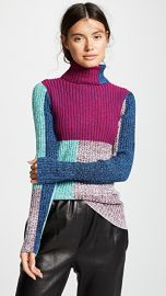 3 1 Phillip Lim Mixed Marled Turtleneck at Shopbop