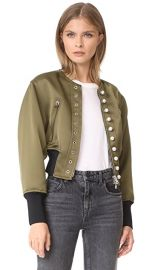 3 1 Phillip Lim Pearly Bomber at Shopbop