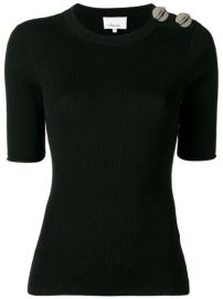 3 1 Phillip Lim Sweater With Silver Button Detail - Farfetch at Farfetch