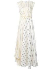 3 1 Phillip Lim Twisted Henley Maxi Dress - Farfetch at Farfetch
