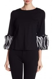 3/4 Sleeve Layered Ruffle Blouse at Nordstrom Rack
