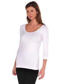 3/4 Sleeve Solid by Tees by Tina at Tees by Tina