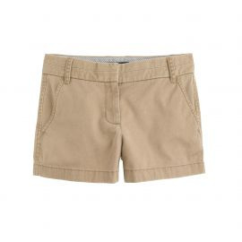 3 chino short in Honey Brown at J. Crew