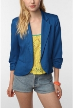 Blue blazer like Janes at Urban Outfitters