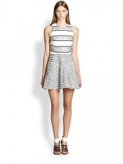31 Phillip Lim - Chevron Paneled Dress at Saks Fifth Avenue