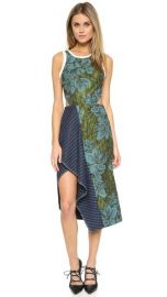 31 Phillip Lim Floral Dress with Cascading Ruffle at Shopbop