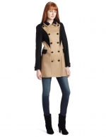 Contrast coat like Zoes at Amazon