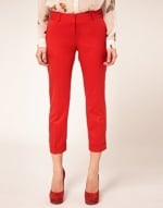 Red pants like Zoes at Asos