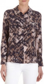 CO-OP BARNEYS NEW YORK Snake Shirt at Barneys